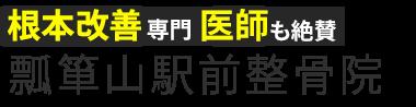 「瓢箪山駅前整骨院」で痛みやシビレを根本改善 ロゴ